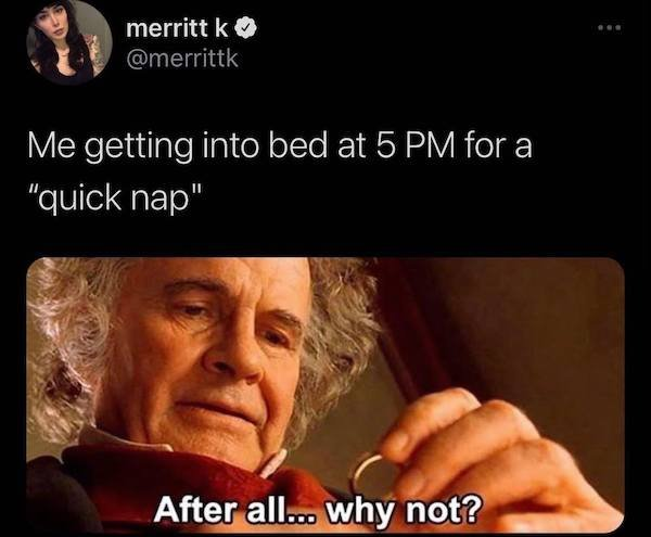 Memes And Tweets For Tired People
