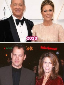 Long-Standing Celebrity Couples: Then And Now