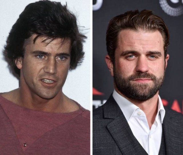 How Hollywood Celebrities And Their Children Look At The Same Age