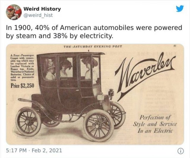 Interesting Historical Facts, part 5