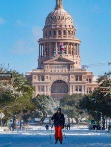 Texas Is Fighting With The Coldest Winter In Over 30 Years