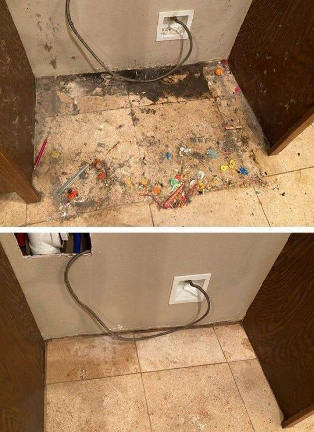 Things Before And After Cleaning, part 3