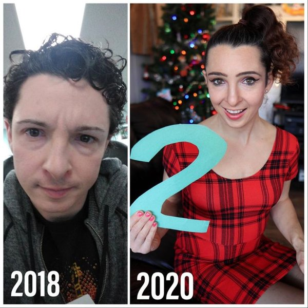 People Show Off Their Transformations, part 5