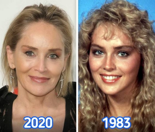 Celebrities: In Their 20s And Now
