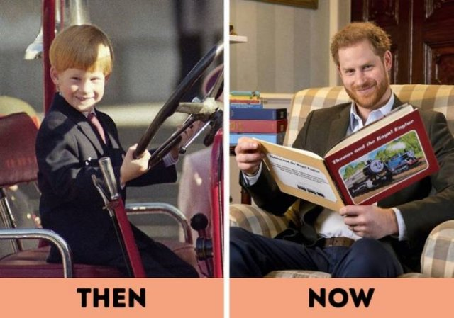 Royal's Young Photos