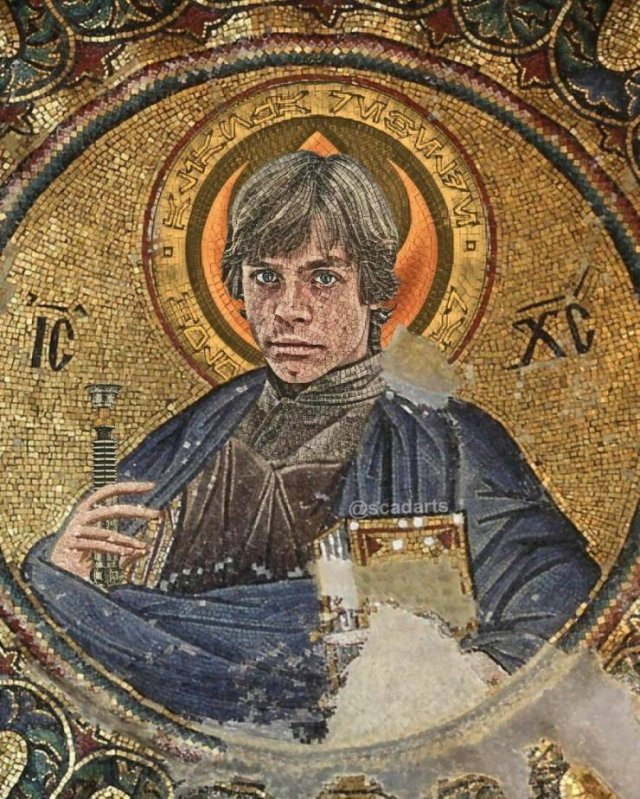 'Star Wars' Movie And Classical Art