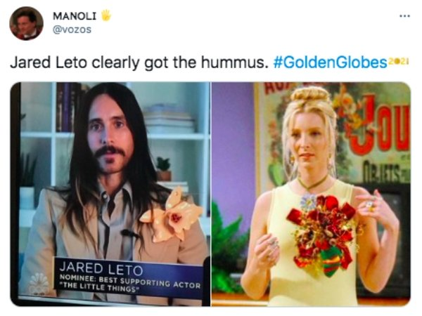 Golden Globe Tweets
