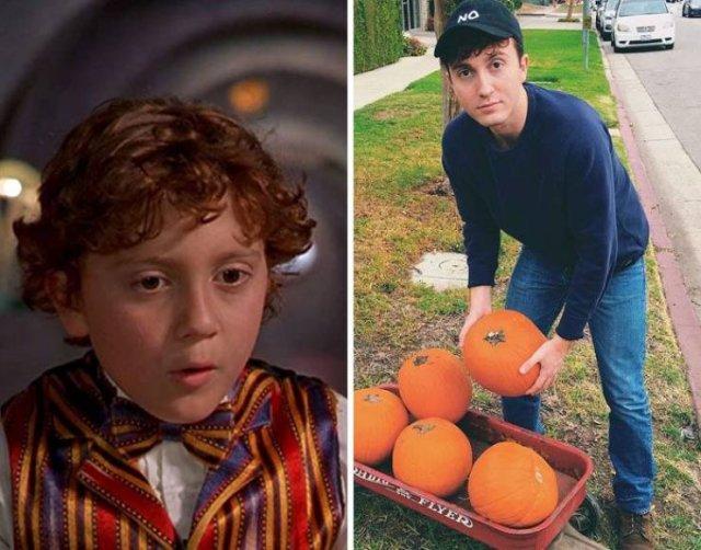 Child Actors: Then And Now, part 5