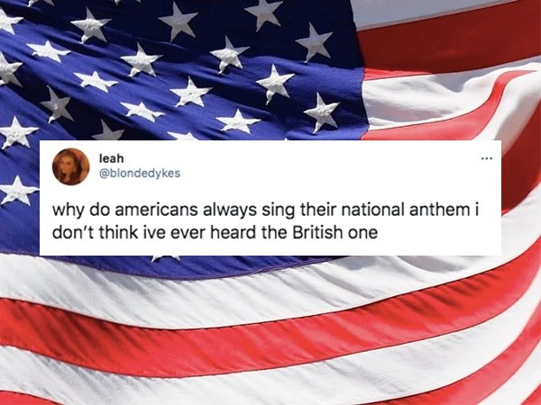 American Things That British People Still Hard To Understand