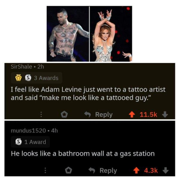 Roasting Comments, part 6