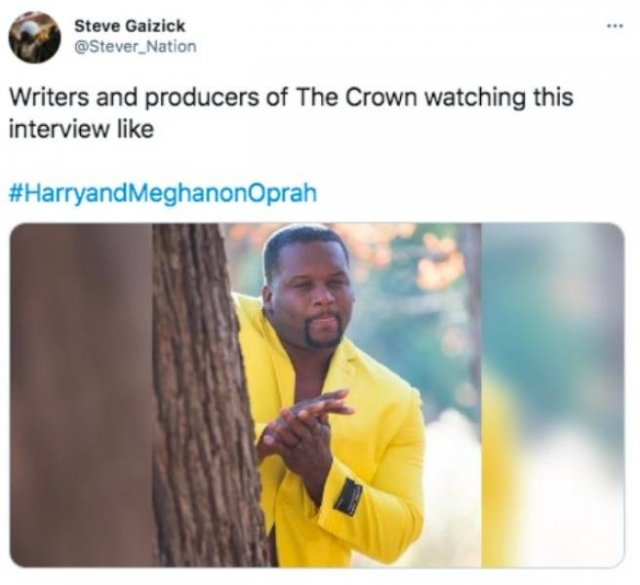 Oprah's Interview With Harry And Meghan Tweets