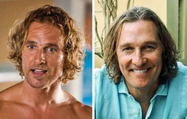 2000's Male Actors: Then And Now