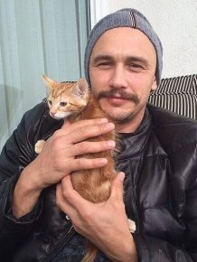 Celebrities With Their Pets