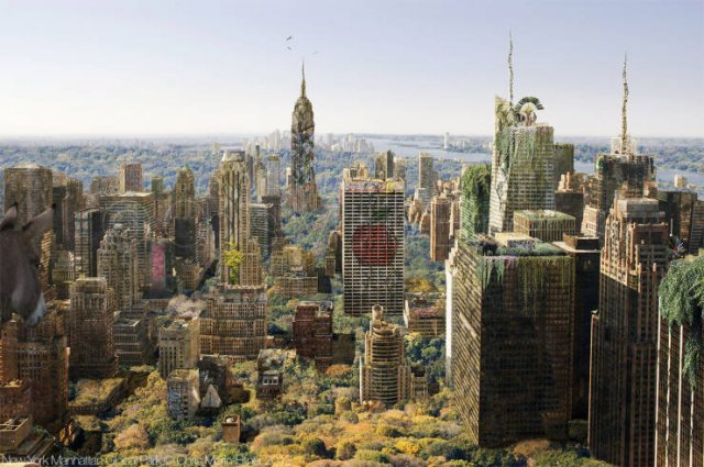 Cities Without People By Chris Morin-Eitner