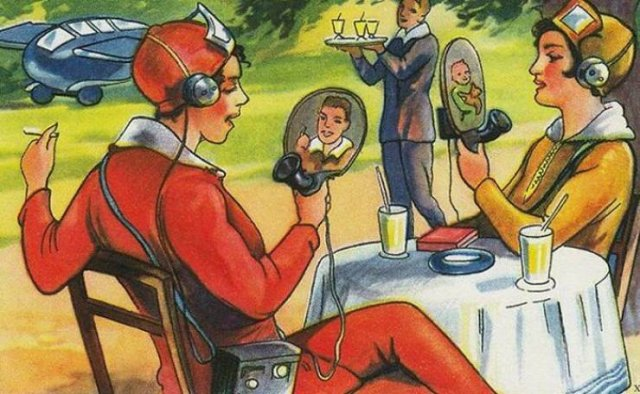 How People Of The Past Imagined The Future