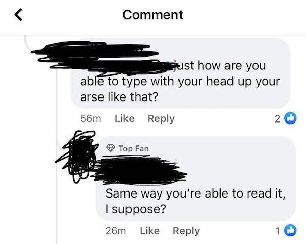 Sarcastic Comments, part 38