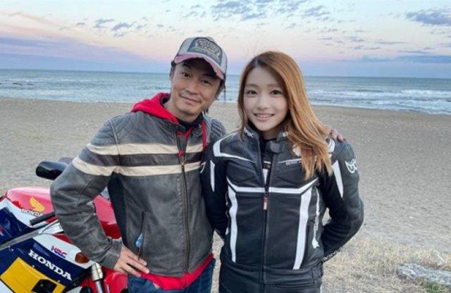 This Japanese Biker Girl Has Some Secret