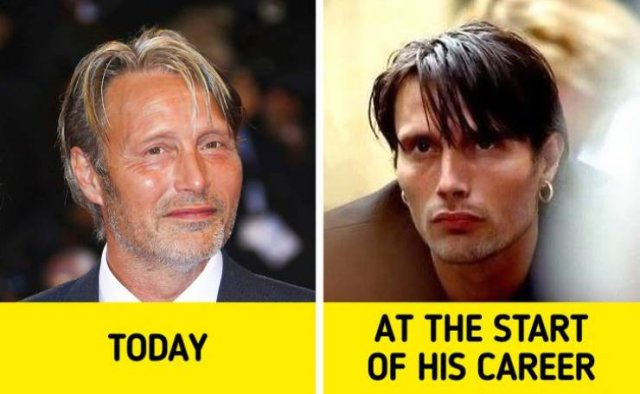 Male Celebrities: At The Begging Of Their Careers