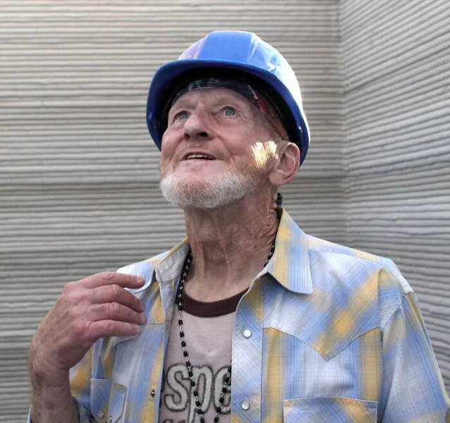 World's First 3D-Printed House For 70-Year Old A Homeless Man