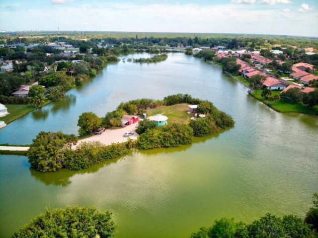 This Man Created Paradise On His Own Private Island In Florida