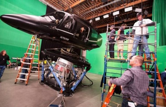 Behind The Scenes Of Popular Movies
