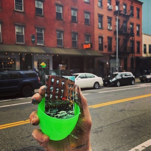 NY Artist Hid Miniature Paintings In Easter Eggs