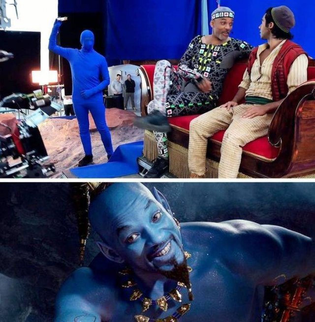 Behind The Scenes Of Popular Movies, part 2