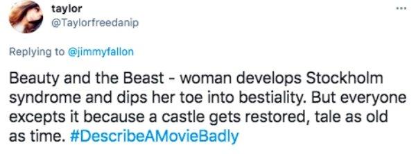 Describe A Movie Badly, part 2