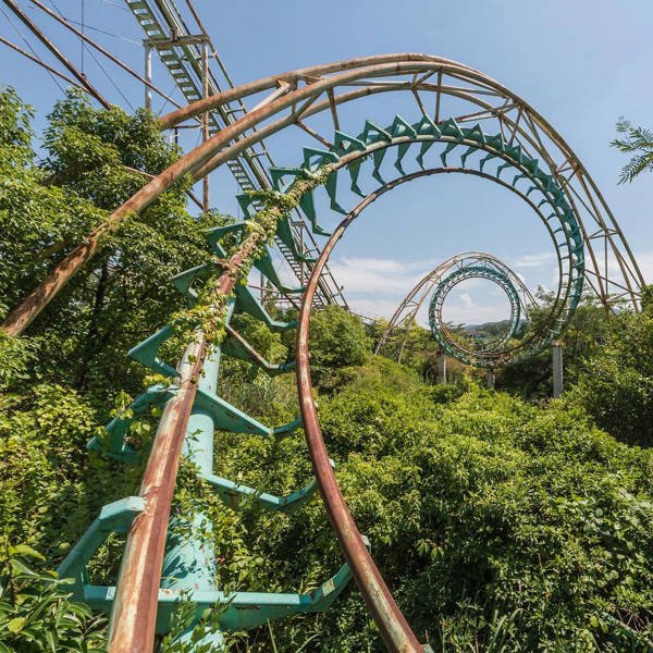 Japan Abandoned Amusement Park