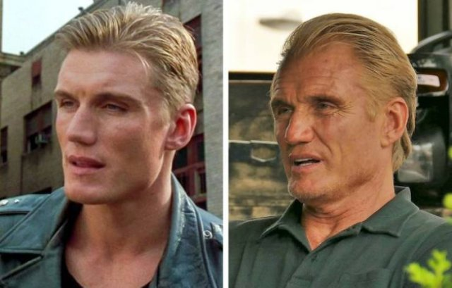 90's Action Movies Actors: Then And Now