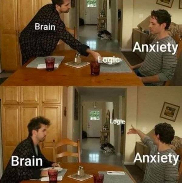 Anxiety Memes And Tweets