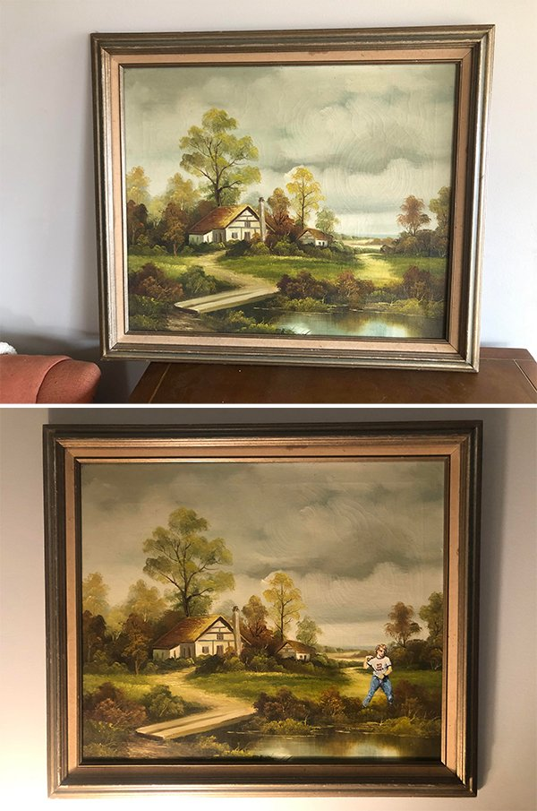 Thrift Shop Paintings