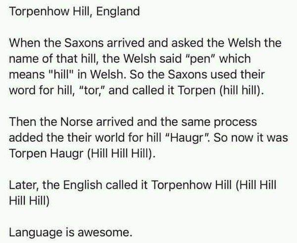 Linguistic Tricks