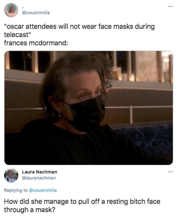 The Oscars Tweets