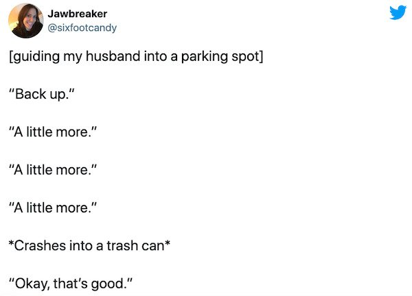 Married Life Tweets, part 3