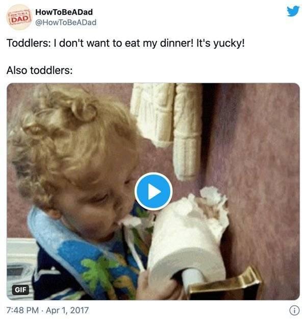 Parenting Tweets, part 6