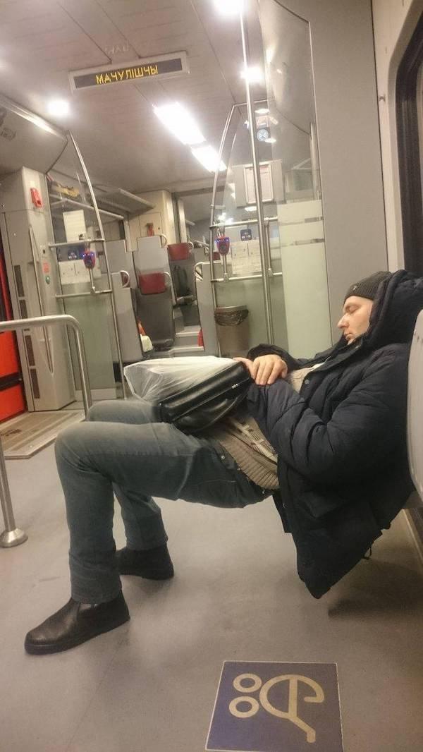 Weird Subway Passengers, part 4