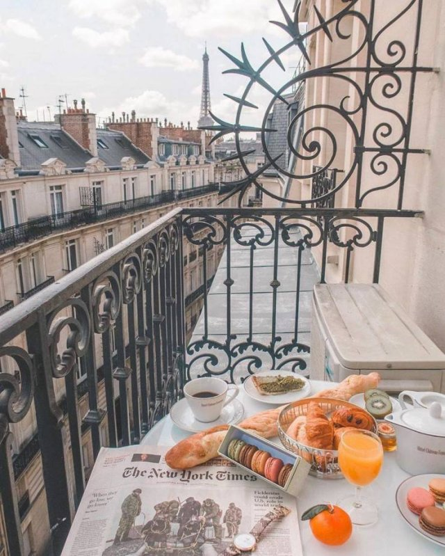 Breakfast With A Beautiful View