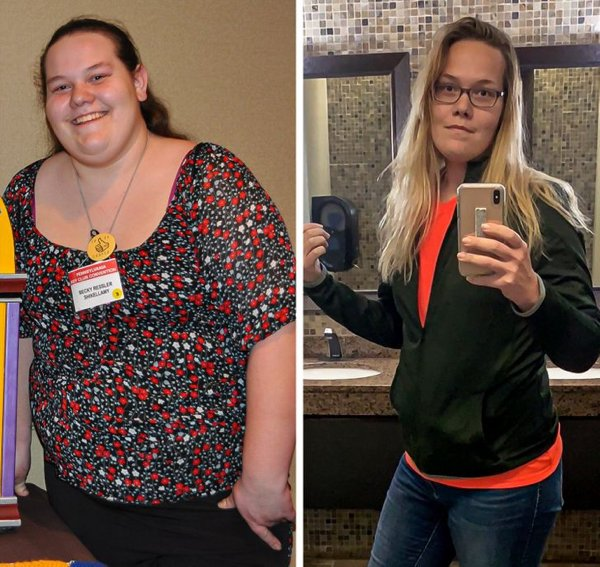 People Show Off Their Transformations, part 9