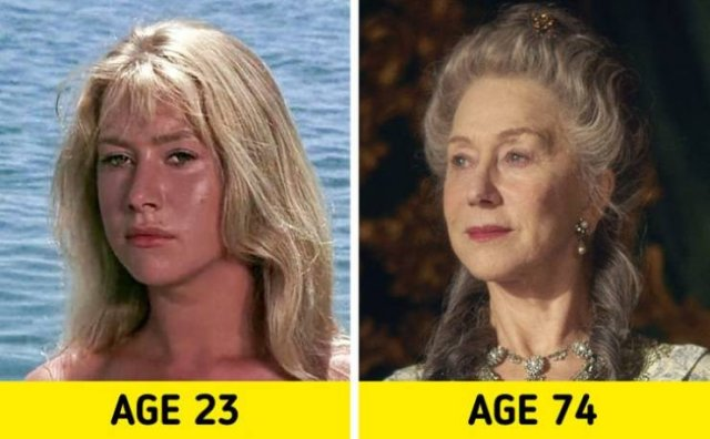 Famous Actresses: Their First Role And Their Latest Role