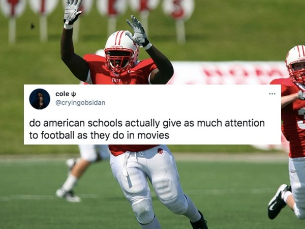 Things In American Schools That Non-Americans Can't Understand