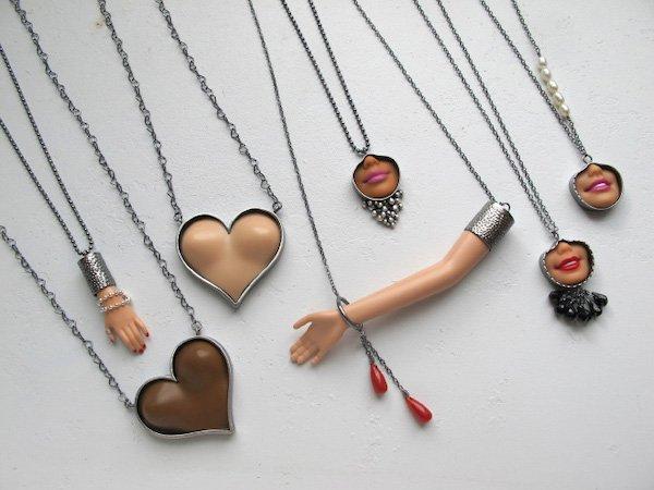 Barbie Parts Jewelry