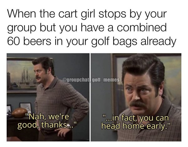 Golf Memes