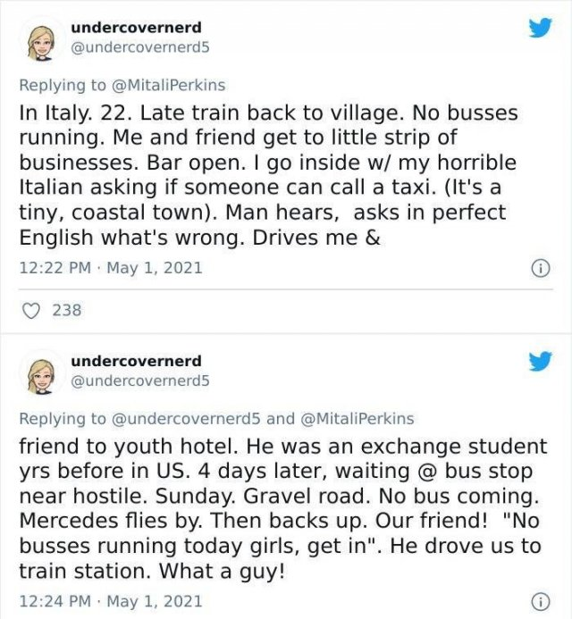 Unexpected Wholesomeness From Strangers