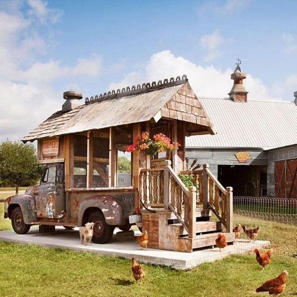 Unusual Chicken Coops