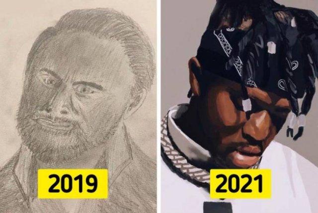 People Share Their Progress