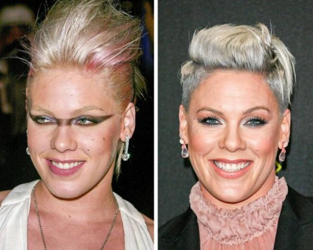 Modern Pop Singers: Then And Now