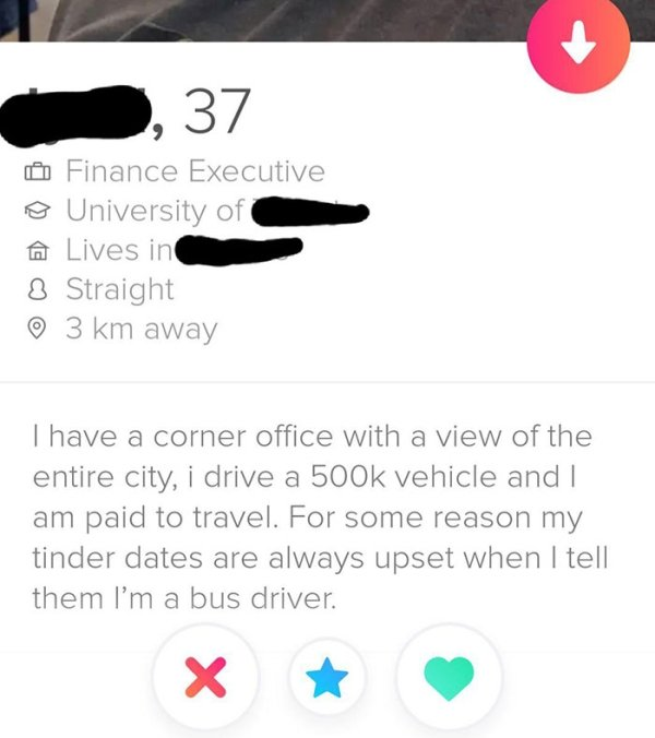 Weird Tinder Profiles