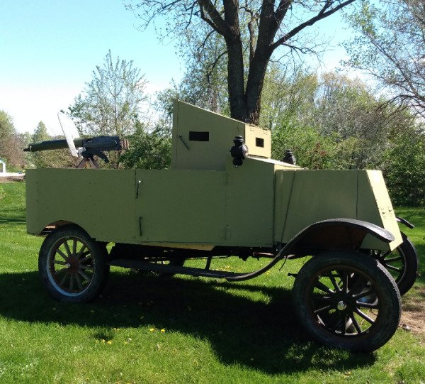 From Nothing To A WW1 Armored Vehicle