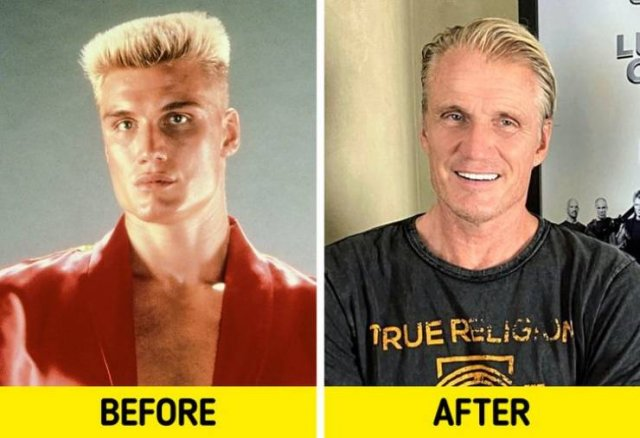 Action Movies Actors: Then And Now